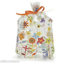50 Happi Tree Owl Baby Shower Cello Goody Bags Favors Treats Sweet Tweet 5x11""