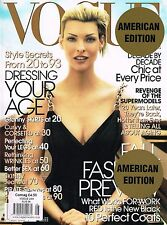 VOGUE USA 08/2006 LINDA EVANGELISTA Christy Turlington YOKO ONO Zadie Smith @NEW