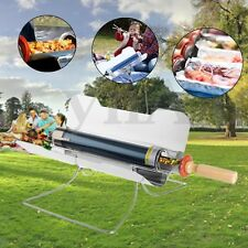 Smokeless Portable Stove Solar Cooker Oven  Cooking Camping Outdoor BBQ Grill