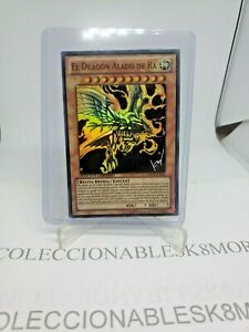 SPANISH!!, NM, The Winged Dragon of Ra ORCS-SPSE2 Super Rare Limited Yugioh Card