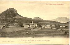 LE MEZENC vu du village de borée coll malet