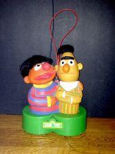 1976 Vintage Portable CTW Sesame Street Muppets Bert And Ernie Radio