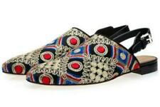 Men's Europe Embroidery Flat Wearproof Driving Shoes Casual Slip On Spring Shoes