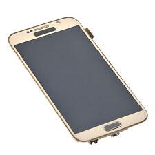Para digitalizador de pantalla táctil LCD Samsung Galaxy S6 con marco