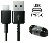 New OEM Samsung Galaxy S8 S8+ S9 S10 Plus Note 8 Type-C USB Data Cable(Black)