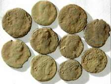 New ListingIvlla 10 Ancient Roman Coins Un 00006000 cleaned and As Found 02101