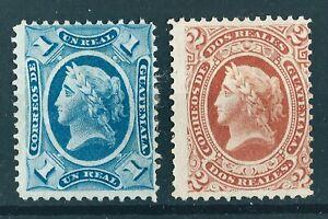 Guatemala - 1875 Liberty Issue