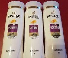 Pantene Pro-V Sheer Volume 2in1 Shampoo & Conditioner 12.6fl oz each LOT OF 3