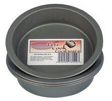 Individual 4 Inch Pie Dishes / Cake Tins, Set of 4, British Made, Teflon TM Non