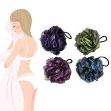 1PC Tools Bath/Shower Body Exfoliate Puff Sponge Scrub Mesh Net Ball Massage JO