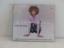 CD Single promo WHITNEY HOUSTON BO Film The preacher's wife Step by step WH005