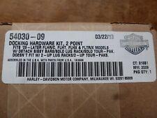 2009-2013 Harley Davidson Road King Glide 2 Pt Docking Hardware 54030-09 OEM New