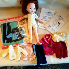 Fisher Price My Friend Doll, Clothing(new and used) and 2 Unused Patterns