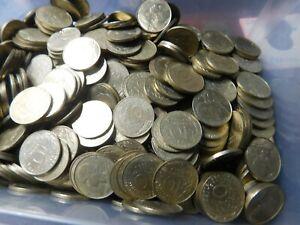 COINS FRANCE 10  CENTIMES 1KG #