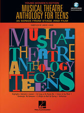 Musical Theatre Anth. for Teens, Young Women's Edition, Book/Online Audio Pack