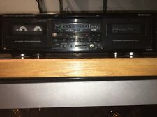 ONKYO R1 Auto-Reverse Dual Stereo Dubbing Cassette Deck TA-RW404 Works Great