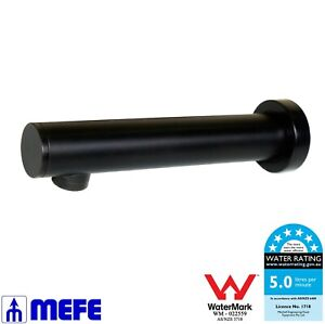 Automatic Sensor Tap All-in-one Wall Mounted Matte Black (CAT 673031B)