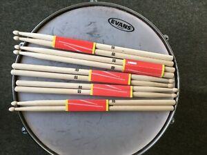 Drum sticks 5B - pack of 5 pairs