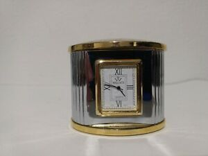 Wallace Quartz Desk Clock, Needs Battery, Untested, As Is