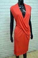 ROCCOBAROCCO Donna Tubino Aderente Vestito Taglia L Maglia Abito Dress Women's