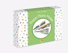 Paper Plane Maker Easy to Make Childrens Craft Kit Smart Fox Junior Christmas