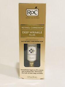 RoC Retinol Correxion Deep Wrinkle Filler 1 oz New In Box