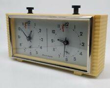 Vintage USSR Russian Chess Tournament Mechanical Clock Timer Jantar Yantar