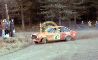 Photo Geoff Fielding Group 4 BDA MK2 Escort RS1800 1978 Lombard RAC Rally