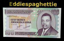 Burundi 100 Francs 1-5-2010 UNC P-44a.