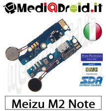 MEIZU M2 NOTE DOCK MICRO USB CONNETTORE RICARICA DATI CARICA MICROFONO VIBRAZION