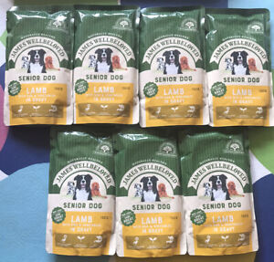James Wellbeloved Senior Dog Lamb with Rice and Vegetables 7 x 150g Wet