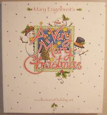 A Very Mary Christmas Engelbreit Holiday Art HBDJ 1999 1st Ed EXCELLENT