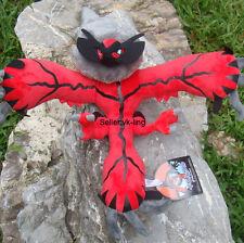 "Pokemon Center Go Yveltal Nintendo X Y Bird Plush Toy Stuffed Animal Doll 18"""