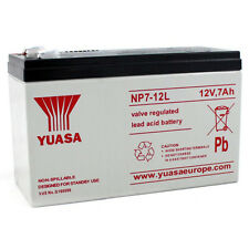 NP7-12L Yuasa Lead-Acid Battery with 6.3mm connection