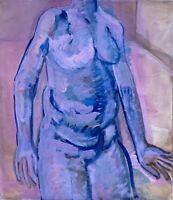 Brigitte Tietze Berlin Ölgemälde Porträt Weiblicher Akt 4 Expressiver Realismus
