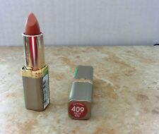 2 tubes L'Oreal Colour Riche Lipstick 409 peachy keen Discontinued  old formula