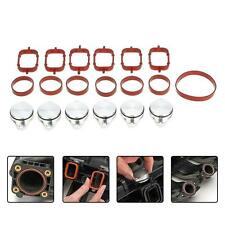 For BMW E60/E61 525d 525xd 535d 6Pcs 33mm Auto Diesel Swirl Flap Bungs Gaskets