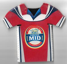"Carlton Mid Stubby Holder Football Shirt Type Gillmeister 11 ""The Axe"" as New"