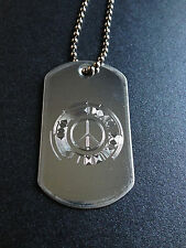 Metal Gear Solid Peace Walker symbol Dog Tag Necklace metal gear solid mgs
