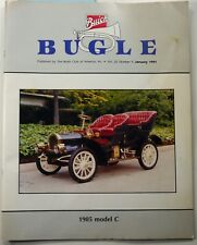 Buick Bugle Magazine January 1991 1905 Model C