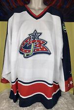 VTG Men's Pro Player NHL Columbus Blue Jackets Stitched Hockey Jersey Size XXL