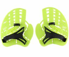 MP Michael Phelps Strength Hand Paddles - Size MD - Neon Black (253577)