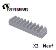 87761 Lego Black Technic Gear Rack 1x7 avec essieu et broche trous 5 pièces