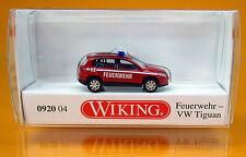 Wiking 092004 Volkswagen VW Tiguan Feuerwehr - Scale / Maßstab 1/160