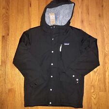 Patagonia - Boys Infurno Winter Jacket - Medium M Size 10 Retro - Black $130