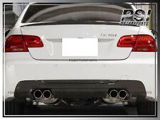 BMW E92 3-Series M-Tech M Sport 3D Style Carbon Fiber Rear Diffuser 2007-2013 CF