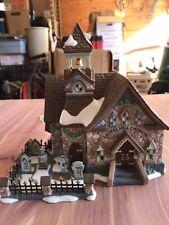 #Ne Vintage 2000 Dept 56-Xmas New England Village Series -Laurel Hill Church