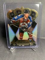2000-01 Pacific Gold Crown Diecuts #8 Peter Forsberg Colorado Avalanche Insert