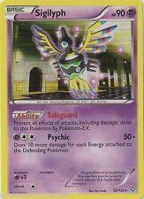 Sigilyph (52/124) -NORMAL RARE Pokemon- BW Dragons Exalted -NM-