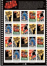 Black Cinema 4336-4340 42 cent Mint NH Stamp Sheet 2008 Free Shipping